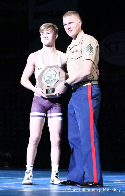 113 pounds Paxton Creese of Minnesota 180720BJF0052