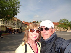 2015 04 30 - a walk through the main square of Eger