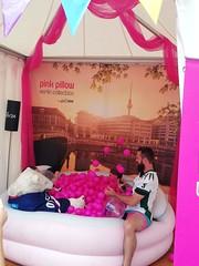 1. LSVD Sportempfang beim LS Stadtfest Pink Pillow ©LSVD, © berlinbullets