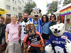 1. LSVD Sportempfang beim LS Stadtfest hawar.help ©LSVD, © berlinbullets