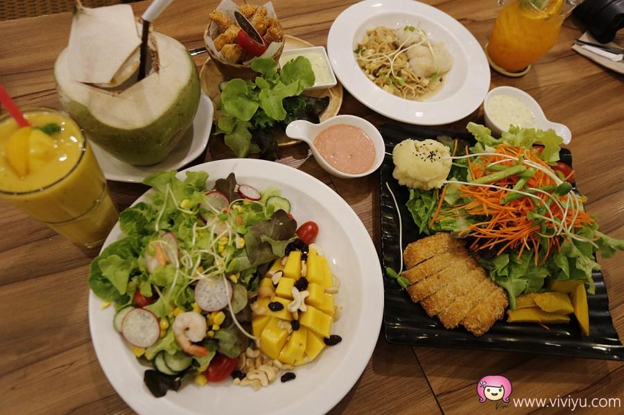 The Salad Concept,泰國清邁,清邁生菜沙拉,清邁素食,清邁美食,生菜沙拉專賣店 @VIVIYU小世界