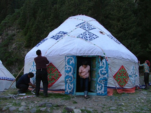 Securing the yurt