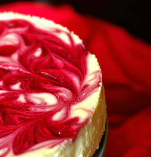 Raspberry - Swirl Cheesecake