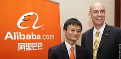 Jack Ma and Philip McMaster at Alibaba.com
