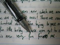 Writing sample: Lamy Vista