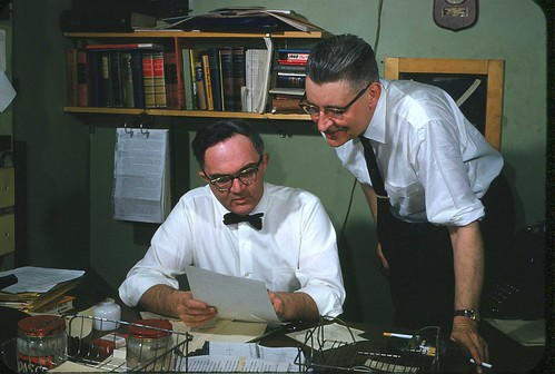 The editor and a Reporter