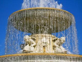 Scott Fountain Detail
