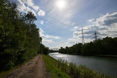 Brücke über den Rhein-Herne-Kanal in Essen