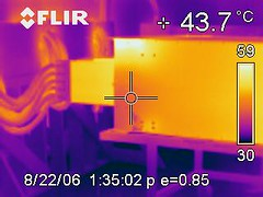 We rented a $16K Infra-Red camera for some tes...