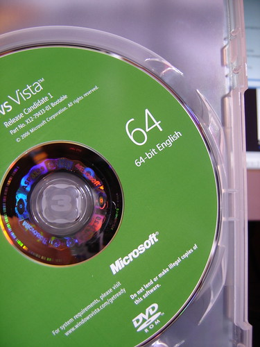 Windows Vista x64 disc