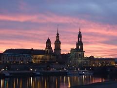 Sonnenuntergang Dresden auf flickr.com von john14.6