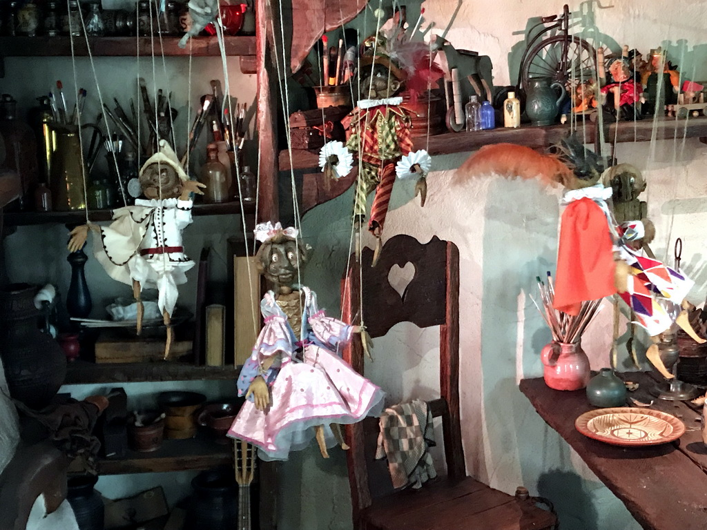 Geppettos House Pinocchio