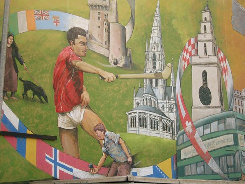 Cork Bus Station Mural