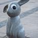 Ögonkontakt - med en av Marianne Lindberg de Geers kaniner