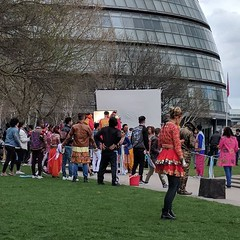 Bollywood filming at Potter's Fields