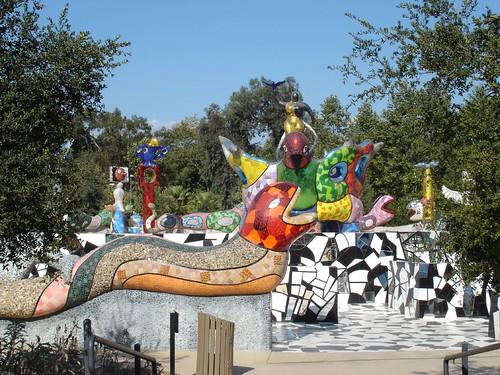 Queen Califia S Magic Circle Mosaic Sculpture Garden Niki De Saint Phalle Mosaic Art Source