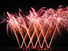FIRE WORKS in curacao