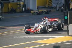 Räikkönen 2nd Pit Stop