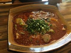 Sichuangericht mit viel Öl