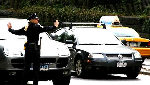 Traffic Cop by Thomas Hawk.