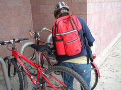 Errands on Bikes at Target