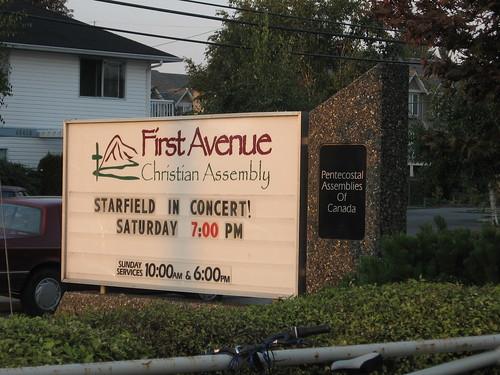 Starfield in Church!