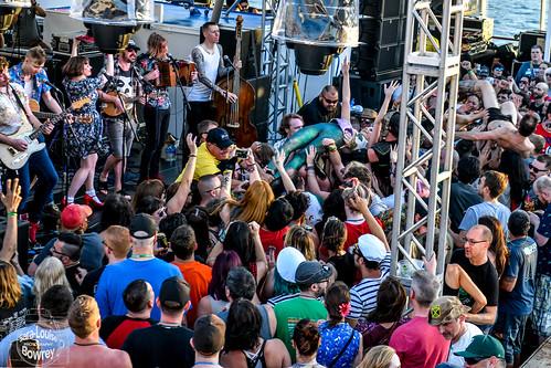 Salty Dog Cruise 2018:Skinny Lister