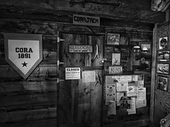 Saloon / Post Office. Cora, WY