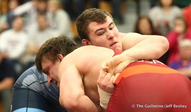 125kg: Adam Coon (NYAC) vs  Tony Nelson (Minnesota Storm). 180520AJF0644