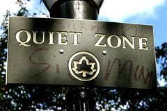 "apparently the ""quiet zone"" is not a..."