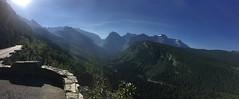 Aussicht auf dem Logan Pass im Glacier Nationalpark