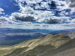 View towards Twin Lakes