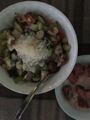 Salad with grilled steak #naturallyglutenfree #glutenfree