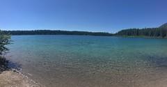 Schwumm im Clearwater Lake