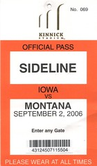 Sideline Pass