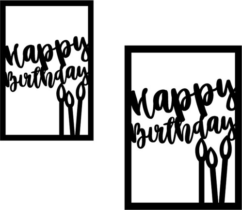 Valentine Card Design: Free Happy Birthday Card Svg Files