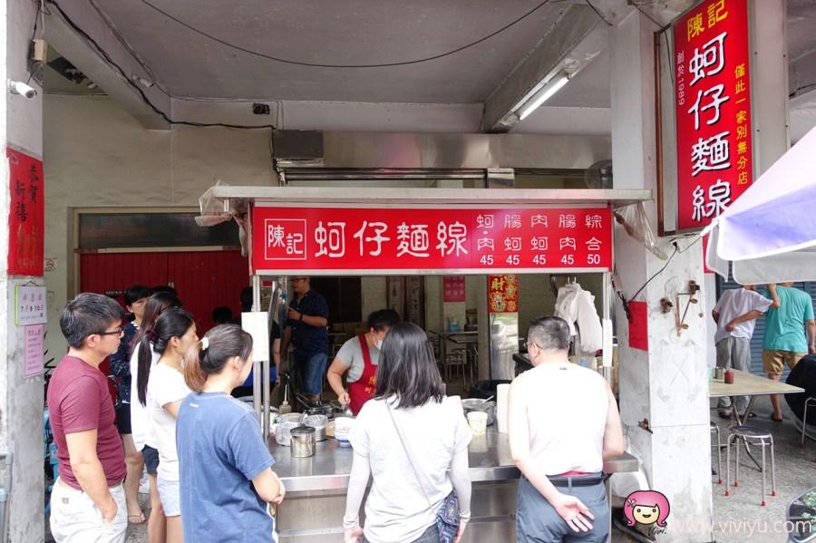 台中文學館,台中第五市場,台中美食,蚵仔麵線,陳記蚵仔麵線,食尚玩家 @VIVIYU小世界