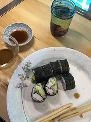 #homemade #glutenfree sushi with coconut aminos #naturallyglutenfree