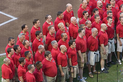 """IMG_0996: Gay Men's Chorus of Washington, DC Sings the Star Spangled Banner • <a style=""""font-size:0.8em;"""" href=""""http://www.flickr.com/photos/54494252@N00/210924436/"""" target=""""_blank"""">View on Flickr</a>"""