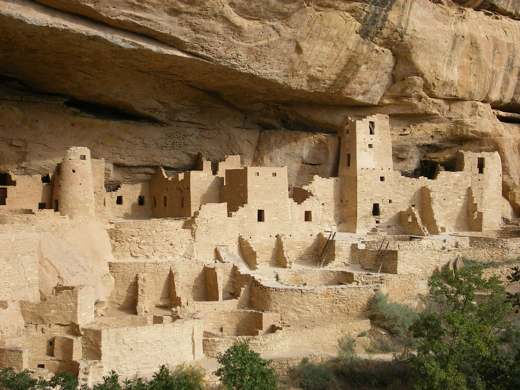 Anasazi Dwelling Called Cliff Palace