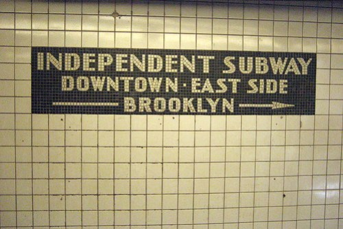 NYC - Independent Subway by wallyg