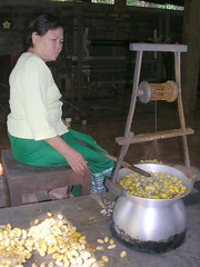 making silk