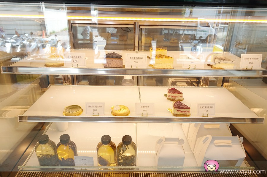 [桃園美食]P'Lei dessert 甜點小姐進化論~生乳酪蛋糕.需事先訂購才吃的到 @VIVIYU小世界