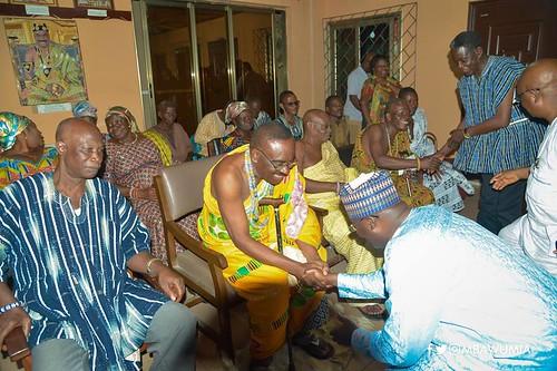 bawumia in Ho