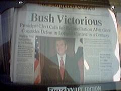 Bush Victorious