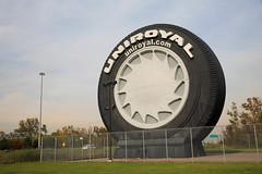 Uniroyal's big tire on I-94