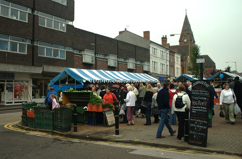 Harborne Farmers Market, from Pete Lewis' photostream under Creative Commons. Click pic for link.