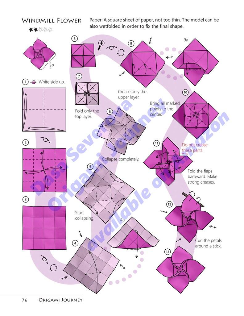 medium resolution of origami journey dasssa tags origami origamijourney dasaseverova paperfolding book pod selfpublished diagram windmill