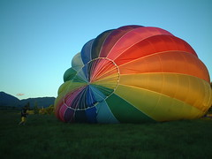 Inflation photo (well, a balloon being blown up)