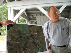 Stony Burk shows the Rhode Island property owners